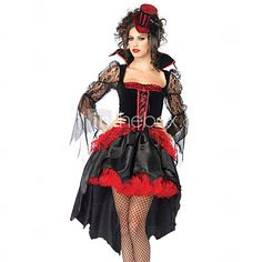 Bloodthirst vampiress halloween costume - SEK Kr. 309