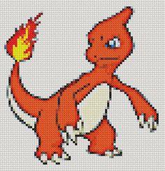 ON SALE 5 Pokemons Cross stitch patterns Pokemon Go