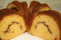 pass the peas, please: butterscotch bundt cake