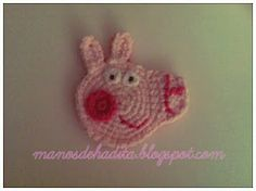 Peppa Pig apply to crochet, free pattern 9/15