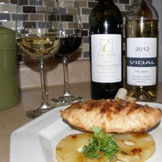 Erie Shore Vidal, Cab Franc with Spicy Honey Glazed Chicken Breast Honey Glazed Chicken, Serving Ideas, Food Pairing, Spicy Honey, Essex County, Wineries, White Wine, Brewery, Vineyard