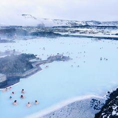 Lagon bleu, Islande