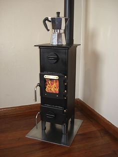 Tiny Woodstove: Giovanni Stoves :: The Workshop - Masterton, Wairarapa, New Zealand