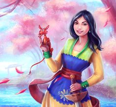 Mulan by VeraVoyna.deviantart.com on @DeviantArt