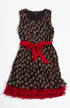 Paper Doll Pleated Dress (Little Girls & Big Girls)   Nordstrom