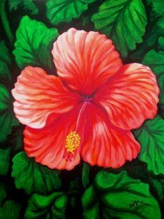 Amapola by Luis Cajiga ~ Puerto Rican Painter ~ Art