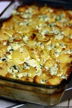 Aurajuusto-kermaperunat | Cebicin keittiössä | Bloglovin' Whole Food Recipes, Cooking Recipes, Healthy Recipes, Food Tasting, Recipes From Heaven, Everyday Food, Quick Meals, My Favorite Food, Vegetable Recipes