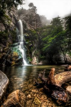 30 Most Beautiful Places in CA Sturtevant Falls, Big Santa Anita Canyon