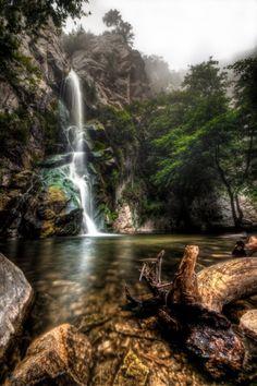 Sturtevant Falls, Big Santa Anita Canyon