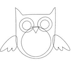 owl applique pattern for quilt Owl Patterns, Applique Patterns, Applique Designs, Quilt Patterns, Sewing Patterns, Colchas Quilt, Owl Quilts, Quilt Blocks, Quilt Baby