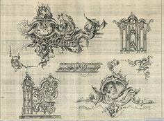 9 | Орнаменты в стиле рококо высокого качества | ARTeveryday.org