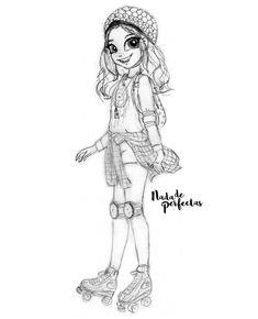 Espero que todos y cada uno de ustedes tengan un buen inicio de semana! #MondayMotivation  Este es un boceto a lápiz, escaneado, de Luna  personaje de la serie original Disney Channel, Soy Luna! Espero que les guste! ✨ @karolsevillaofc me...