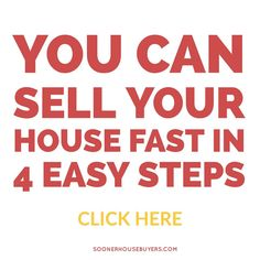 You can sell your house in 4 easy steps. Sooner House Buyers 405-288-1281 Pat@soonerhousebuyers.com  #sellahousefast #sellhousefastinOK #sellhousefastinOklahoma #soonerhousebuyers #oklahoma #oklahomacity Sell Your House Fast, Selling Your House, House Buyers, Home Buying, Oklahoma, Tips, Easy, Custom Homes, Counseling