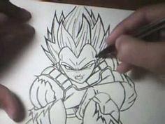 drawing VEGETA