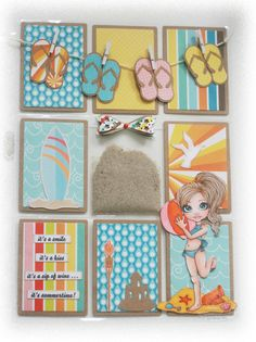 Milnie Creations: Fable Beach Fun Pocket Letter
