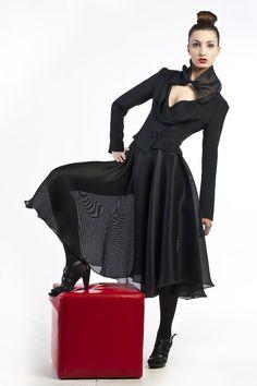 Silk taffeta fullcircle skirt by tsyndyma: Etsy