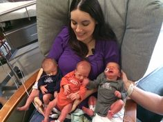 Triplets born to woman who opts to not have C-section - KETV7