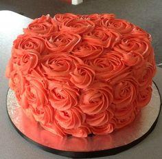 Rosette Orange Cake