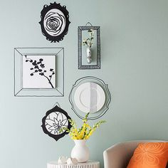 Sharpie Wall Frames