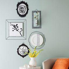 Sharpie Wall Frames