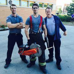 "Chicago Fire on Instagram: ""We Dem Boyz.  #ChicagoFire #Repost @steven_r_mcqueen"""