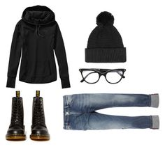 """badass uniform 3"" by winkiefingers ❤ liked on Polyvore featuring Sportmax, Dr. Martens, Topman and Tom Ford"