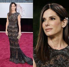 Sandra Bullock-Elie Saab  Fashion hits and misses: The 2013 Oscars