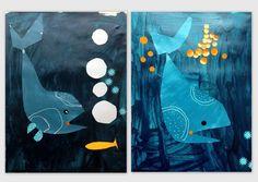 les petites têtes de l'art: Stage d'été, comme un poisson dans l'eau