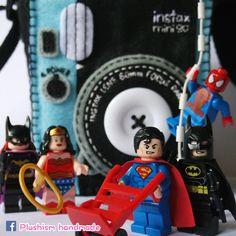 plushism.etsy.com  #Plushism loves #instax #instaxmini90 #Fujifilminstax #FujifilmInstaxMini90 #Polaroid #DCCOMICS #Superman #Batman #WonderWoman #Batgirl #Spiderman #Spidey #Toyphotography #handmadelove #handmadecase #custommadecase #camera #kamera #photographie #foto #photography #instantcamera