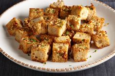 Bite-Size Garlic Bread with Fresh Herbs   Epicurious