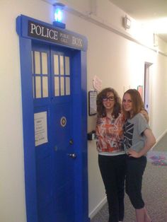 TARDIS Dorm Door. I think I need a friend who is as obsessed with doctor who as me so I can do this