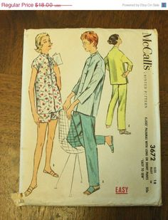 50 Fall Pattern Sale McCall 3672 1950s 50s by EleanorMeriwether