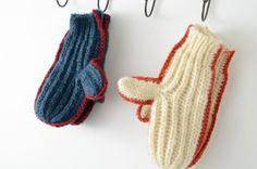 2013冬季新款 森女範彩色邊粗針織毛線手套-淘寶網