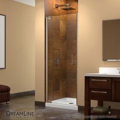 """Dreamline SHDR-4125720 Elegance 72"""" High x 27-1/4"""" Wide Pivot Frameless Shower D"""