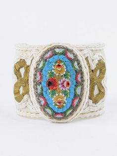 """""""My cuff bracelets are feminine, yet bold, and like everything in my collection designed to become treasured timeless heirlooms.""""  Jill Garber is featured in the spring 2016 issue of Where Women Create Magazine."""