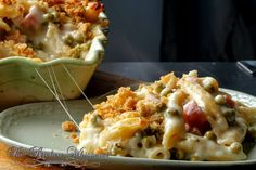 Cheesy Ham Baked Penne: Great for a cold winter night.