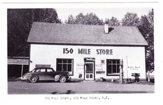 BC – 150 MILE HOUSE, 150 Mile Store, Advertising, Rumsey c.1940s RPPC Staycation, Old Pictures, Vintage Postcards, British Columbia, 1940s, Vancouver, Robin, Old Things, Advertising