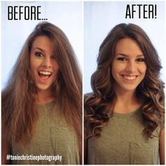 PIn it now and make it happen!   Curling Hair Tutorial by Seattle Wedding Photographer Tonie Christine.