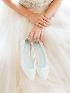 Wedding shoes idea; Featured Photographer: Rachel May Photography, Featured Shoes: Bella Belle Shoes