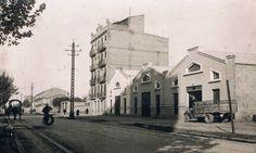 Avenida de Peris y Valero en la decada de los años 40. #Valencia