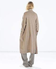 Image 5 of EXTRA-LONG CARDIGAN from Zara