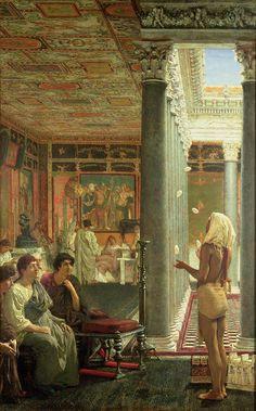 The Juggler, 1870, Sir Lawrence Alma-Tadema