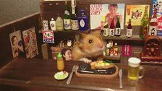 Hamster Bartenders by kawanabesatou