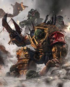 Warhammer 40K - Ork Warboss