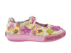 Lelli Kelly: hand beaded, machine washable with running shoe sole, $71.98