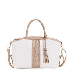 ELEONORA - HANDBAG   #spring #woman #collection #bag #white #carpisa