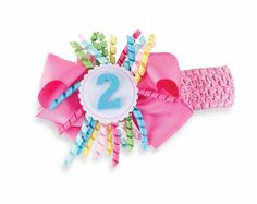 Stretchy mesh headband has colorful trim and comes with interchangeable velcro numbers to mark monthly milestones of baby's first year. Attractive box for the perfect new mom or shower gift. From Mud