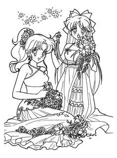 Znalezione obrazy dla zapytania sailor moon coloring pages printable Sailor Moon Manga, Sailor Moons, Sailor Venus, Sailor Moon Art, Sailor Moon Crystal, Sailor Moon Coloring Pages, Cute Coloring Pages, Coloring Pages For Girls, Flower Coloring Pages