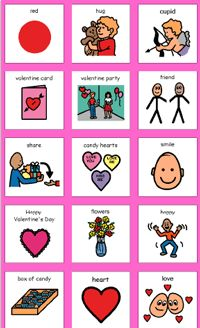 valentine's day bingo cards for preschoolers
