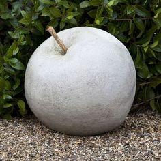 Garden art | art apple. Put the appropriate windfall under each tree. | Garden Art ...